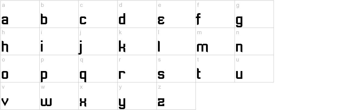 Sawchain lowercase