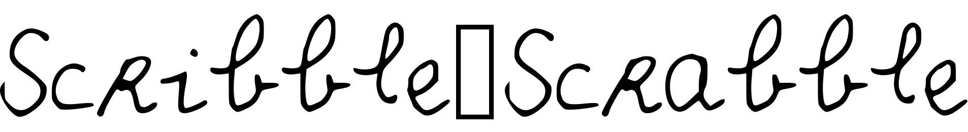 Scribble_Scrabble