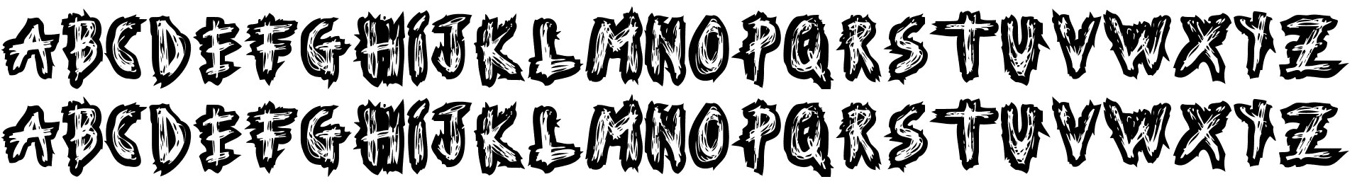 Serial Font