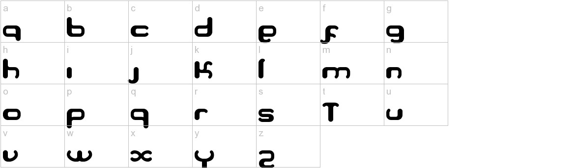 Serpi lowercase