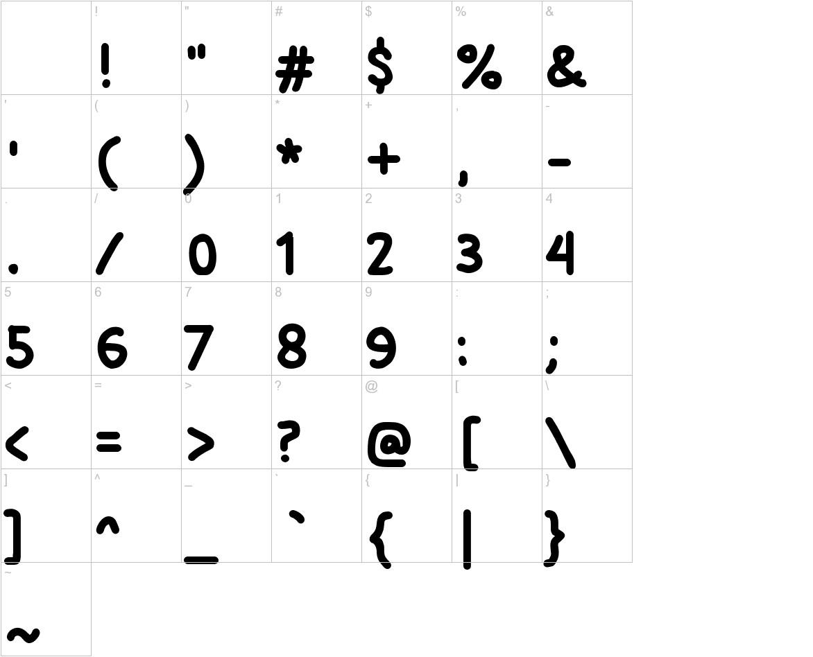 Si Kancil characters