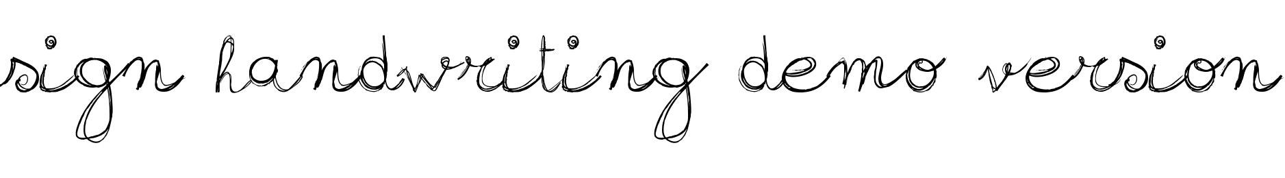 sign-handwriting_demo-version