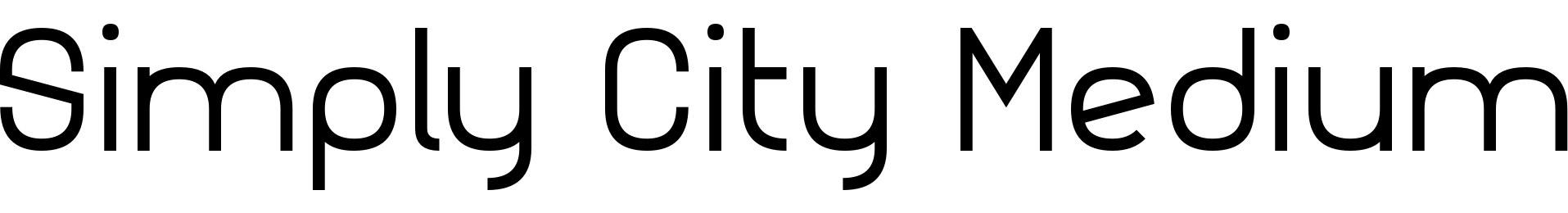 Simply City Medium