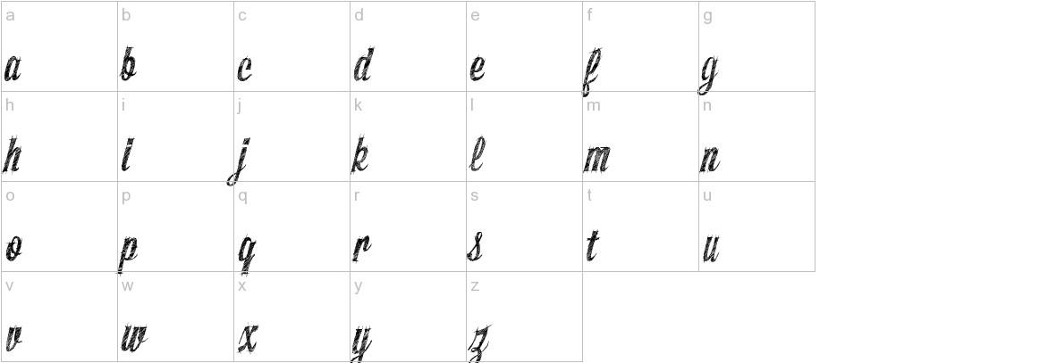 SketchyBuilder lowercase