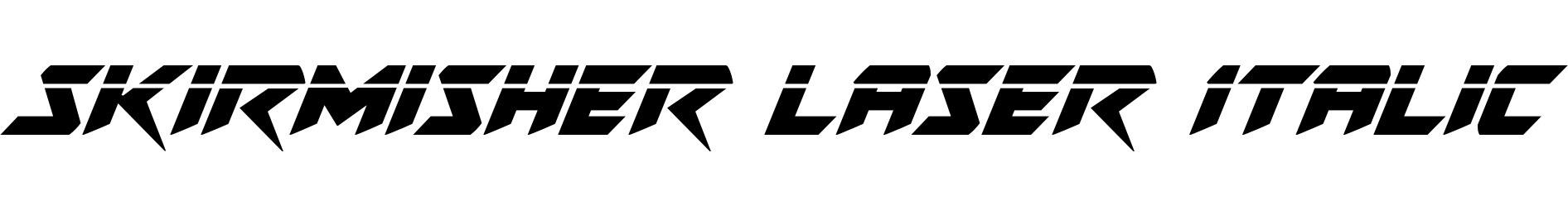 Skirmisher Laser Italic