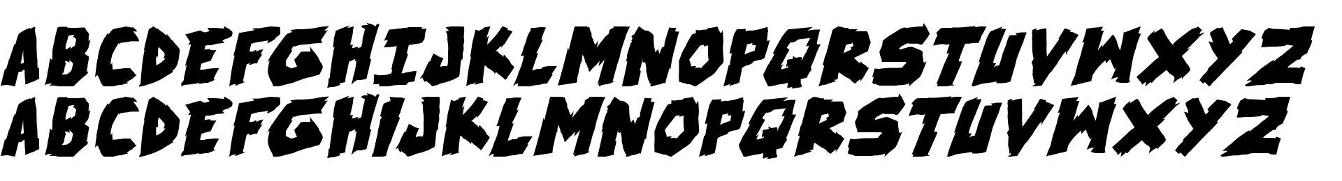 skrunch Bold Italic