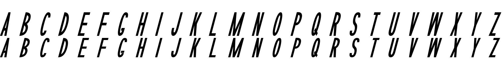 Sophisticated Slims Italic