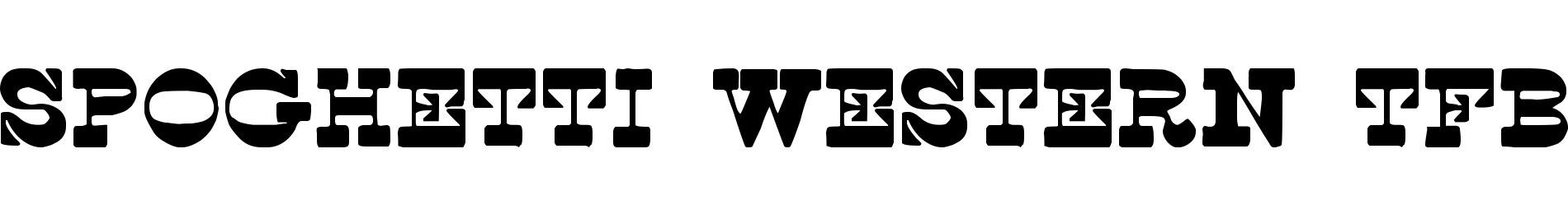 Spoghetti Western tfb