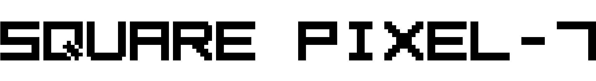 Square Pixel-7