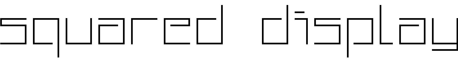 Squared Display
