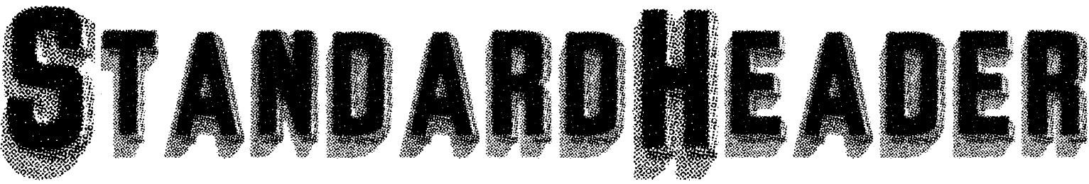 StandardHeader