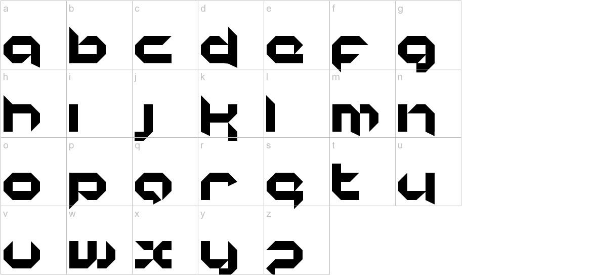 korunishi lowercase