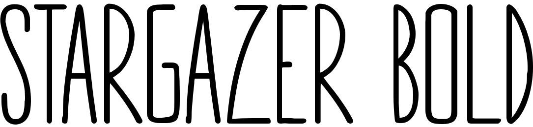 STARGAZER Bold