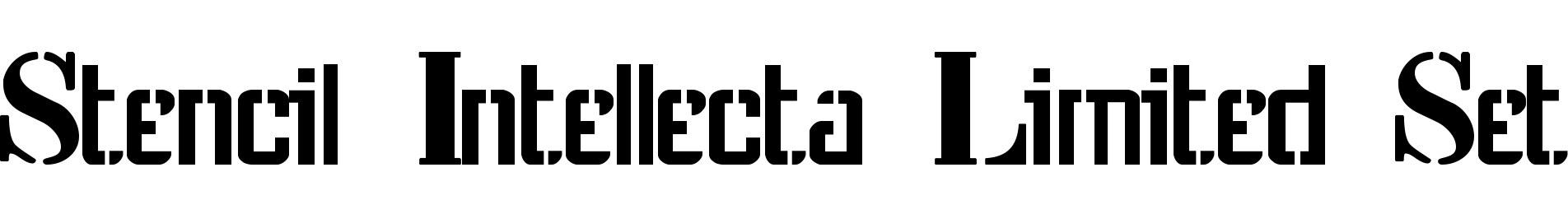 Stencil Intellecta Limited Set