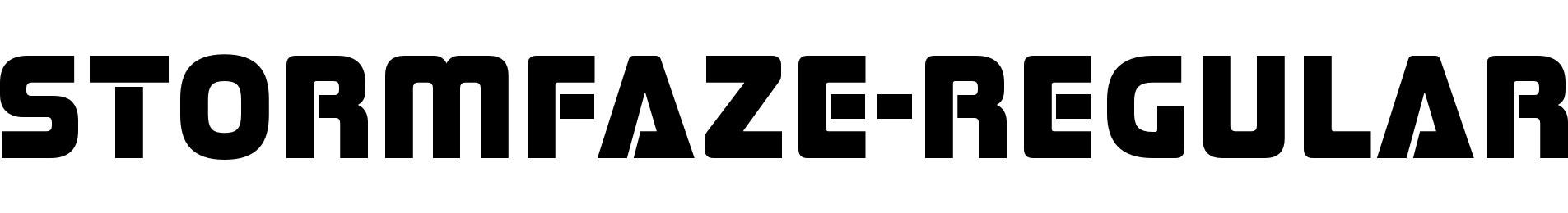 Stormfaze-Regular