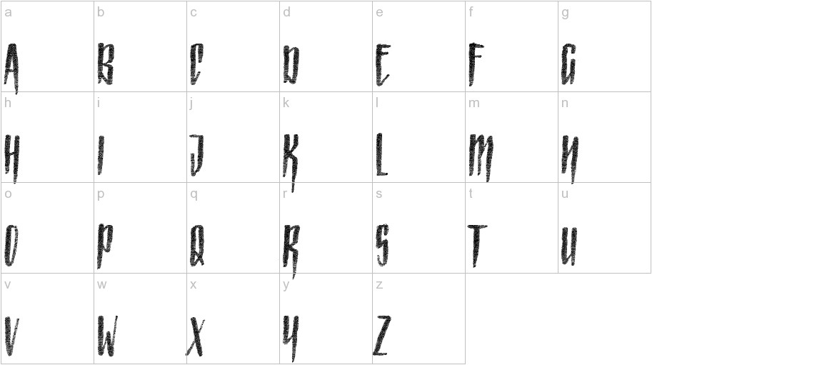 Strained Capitals lowercase