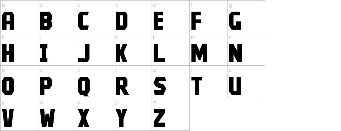 Kroftsmann lowercase