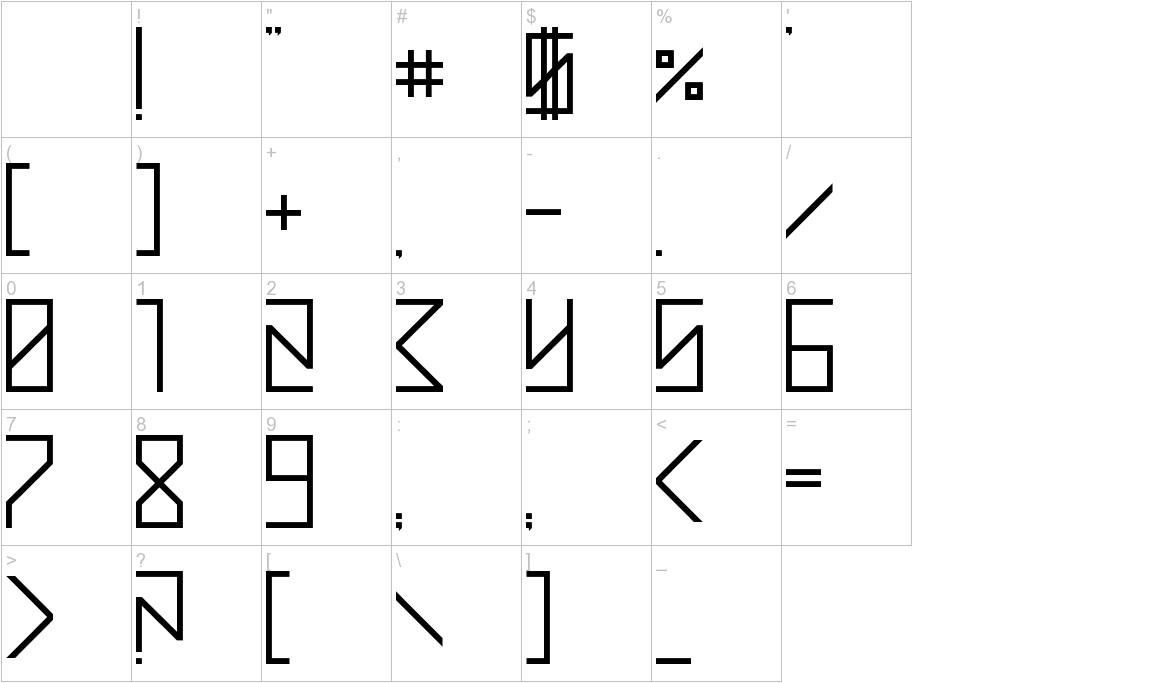 Street Math characters