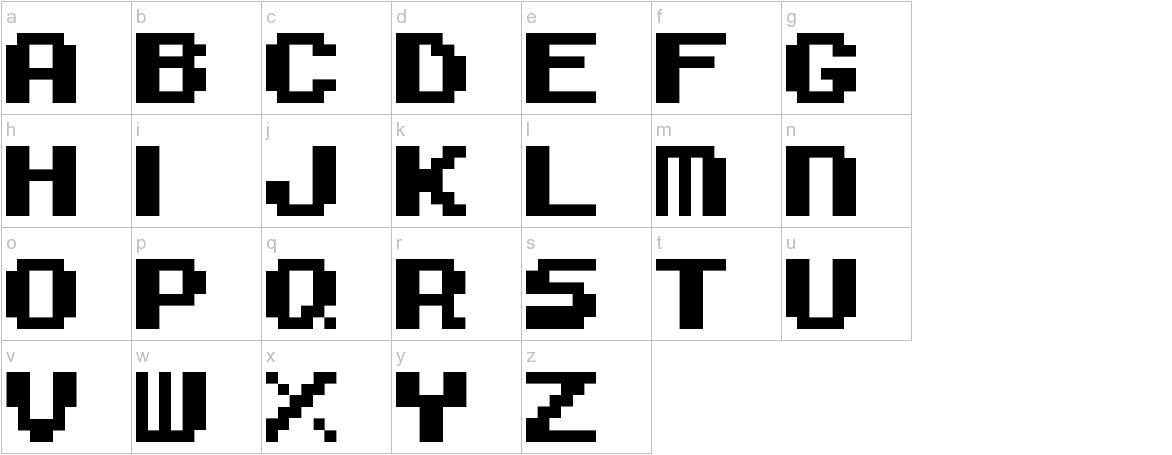 Super Mario Bros. 3 lowercase