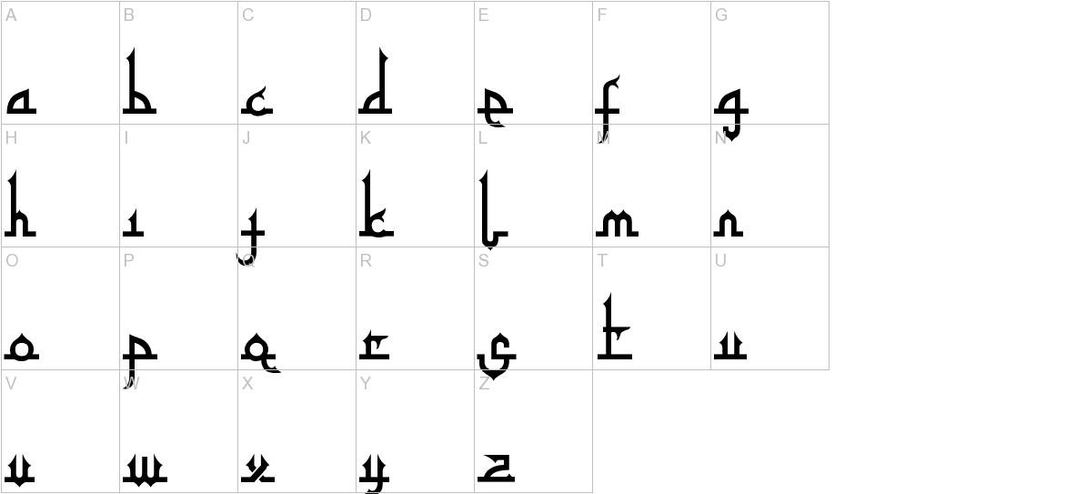 Tafakur uppercase