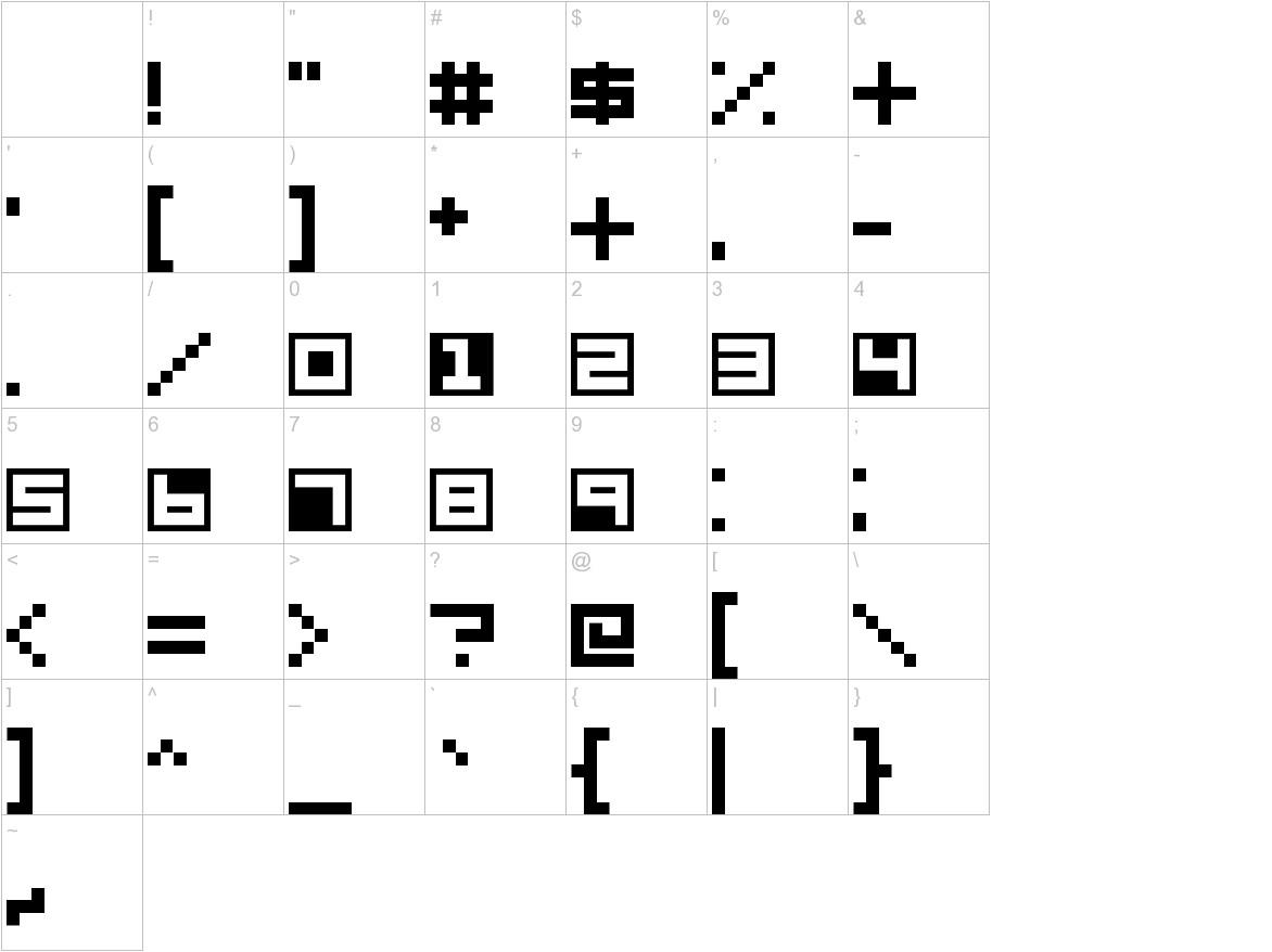 Terrablox characters