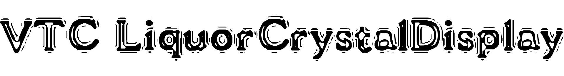 VTC LiquorCrystalDisplay