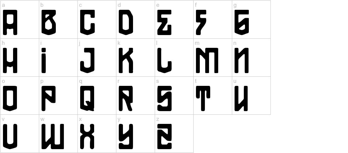 THE MODERN PIRATES! lowercase