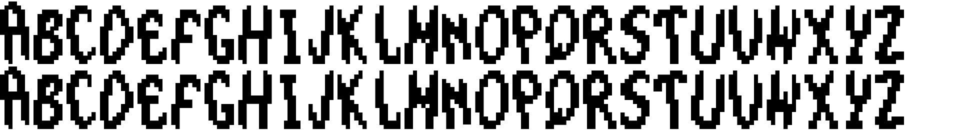 The Smurfs - Large Font