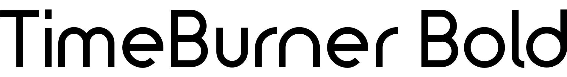 TimeBurner Bold