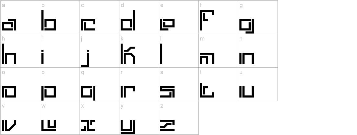 Lyneous Linear BRK lowercase