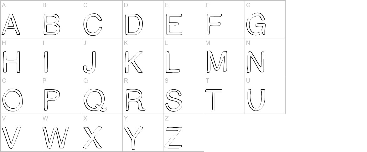 Trattopenlife uppercase