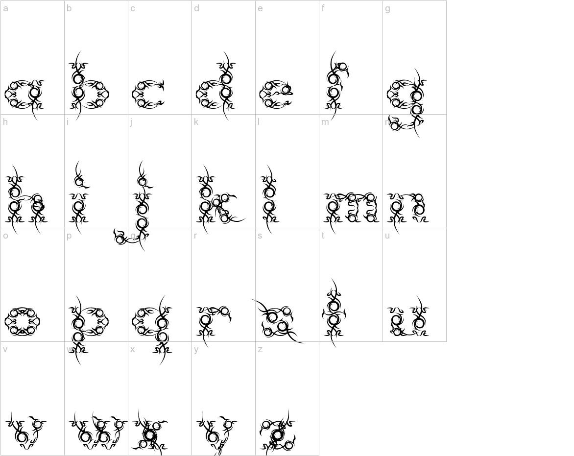 Tribou lowercase
