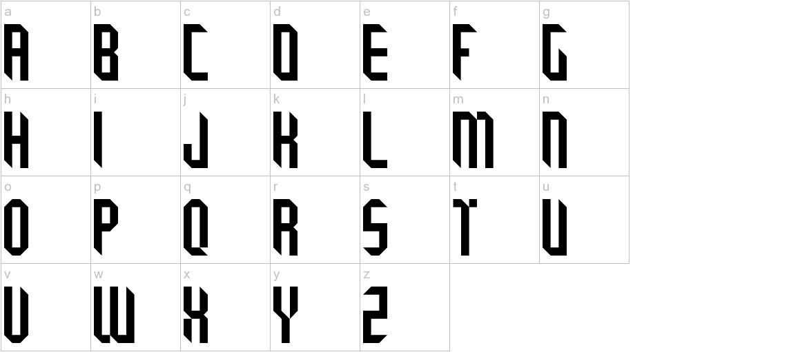 Tricube lowercase