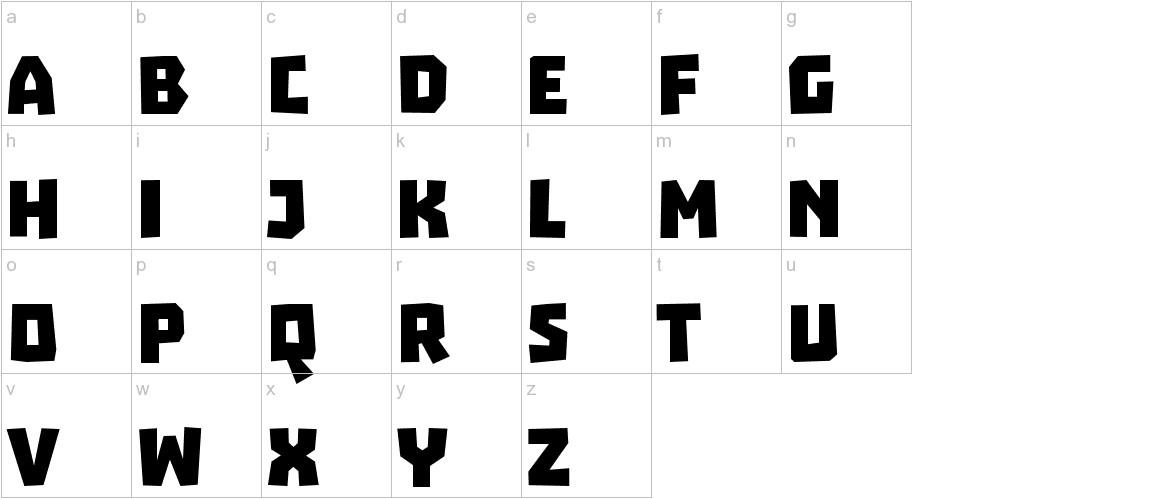Troika lowercase