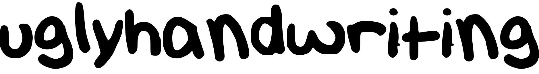 uglyhandwriting