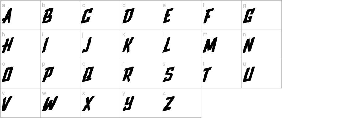 Upjohn - Rough lowercase