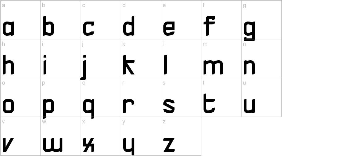 V-Zel lowercase