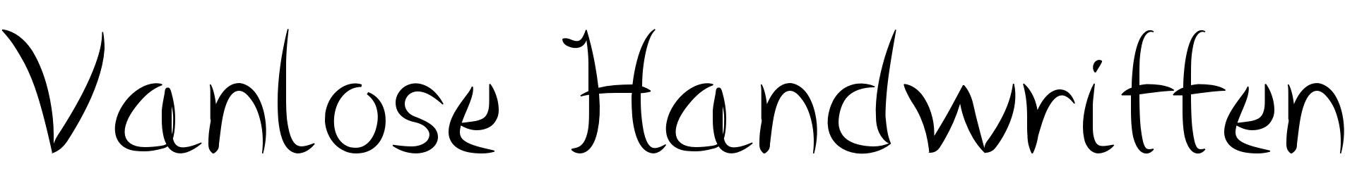 Vanlose Handwritten