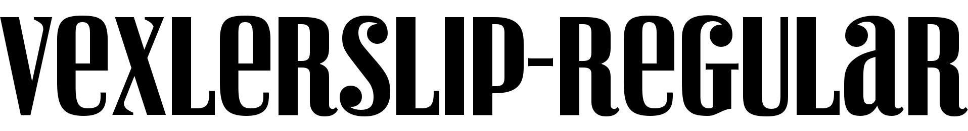 VexlerSlip-Regular
