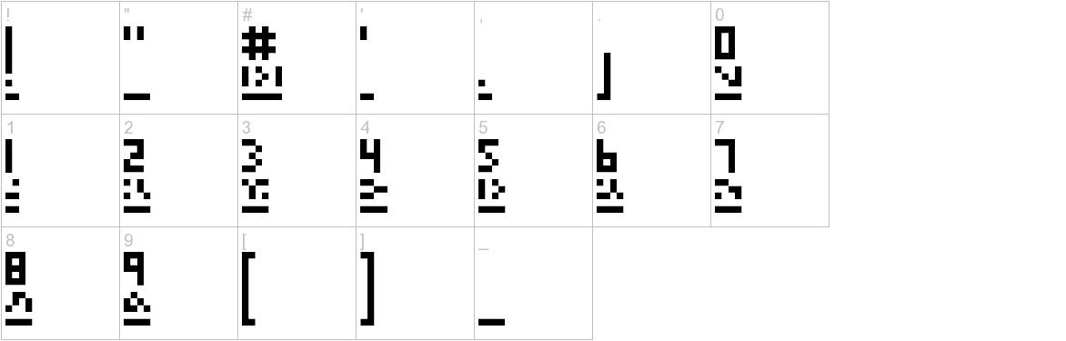megapixel characters