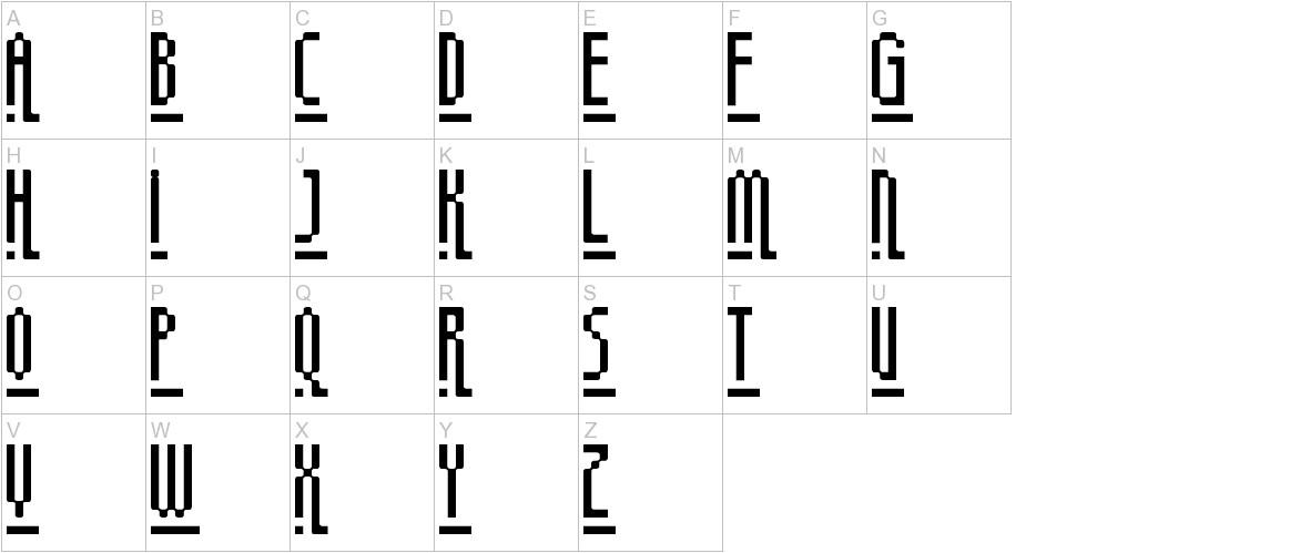 megapixel uppercase
