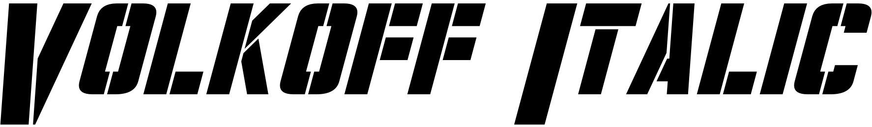 Volkoff Italic