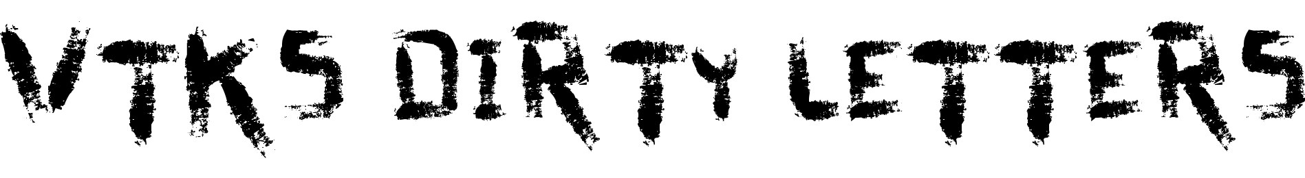 vtks dirty letters