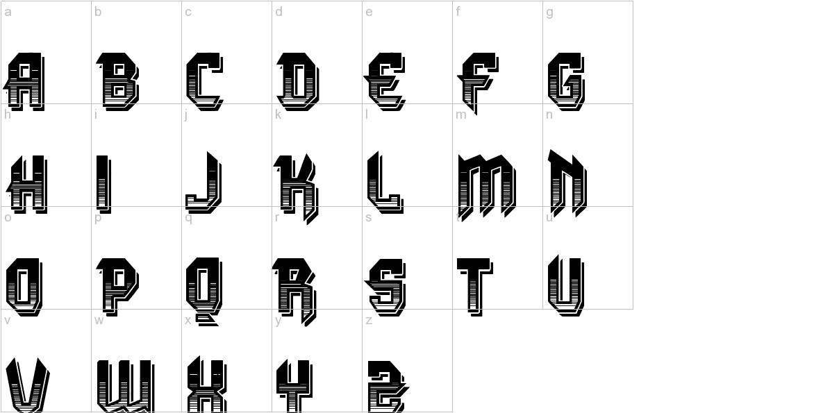 VTKS DURA 3D lowercase