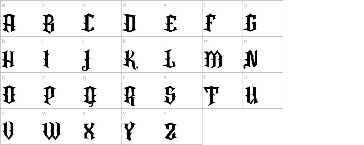 VTKS Rafia lowercase