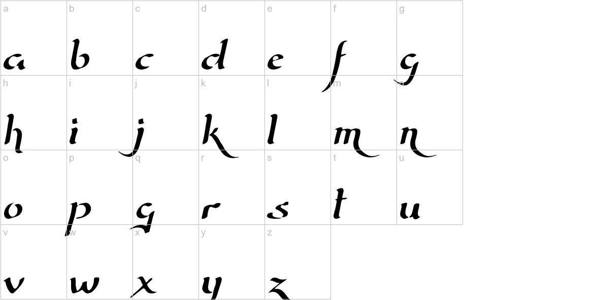 Wizard Of The Moon lowercase