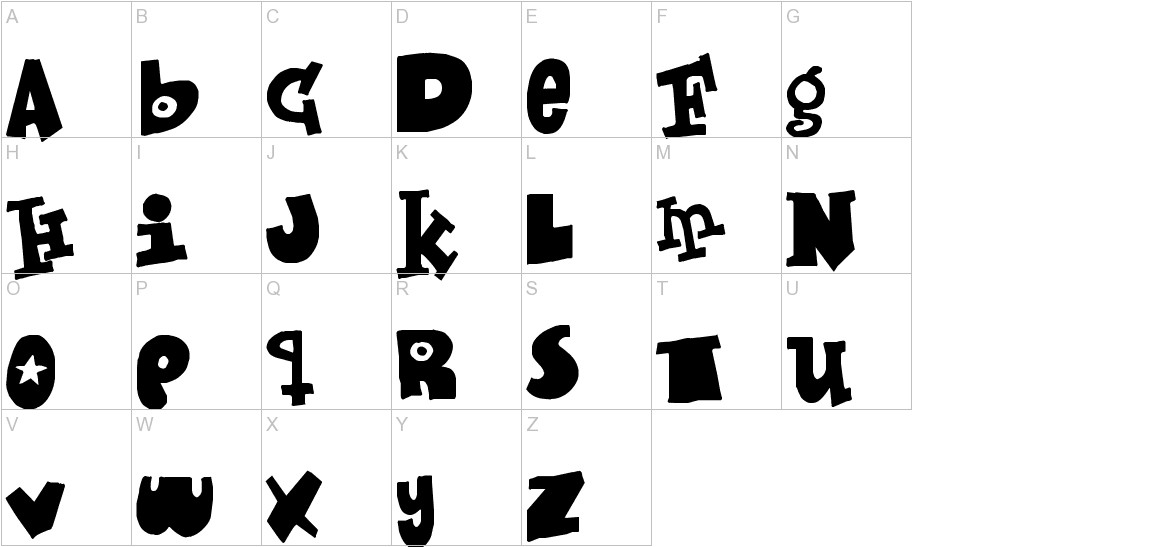Mixed up uppercase