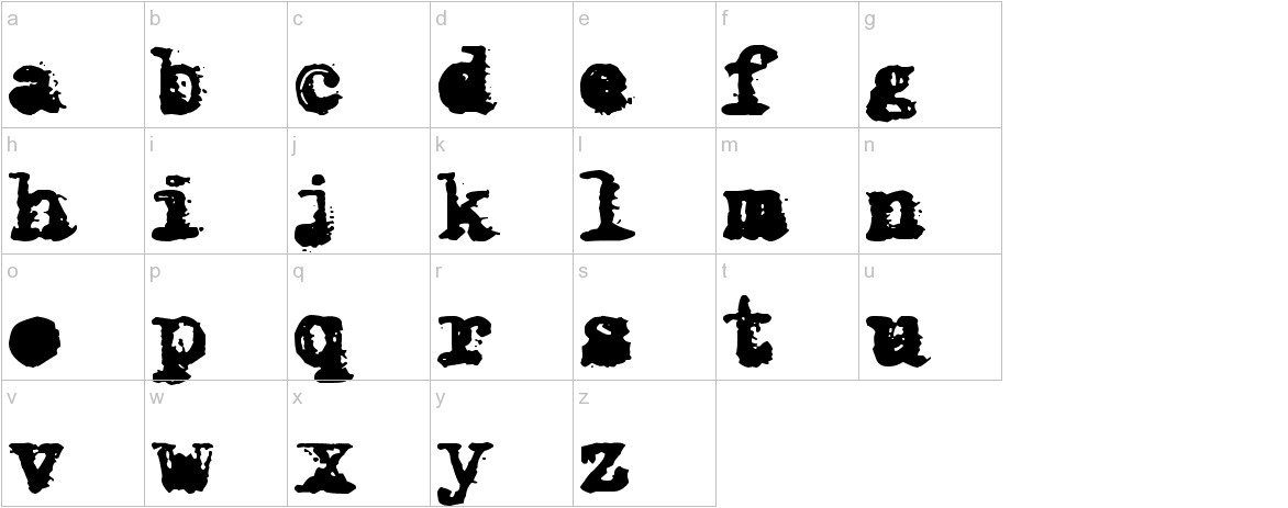 X-Classified lowercase