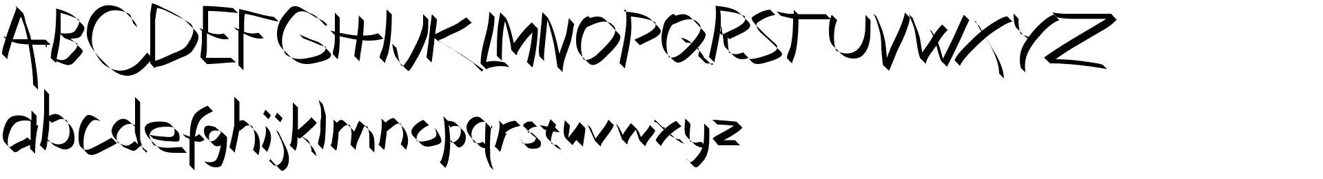 Xaligraphy Thin