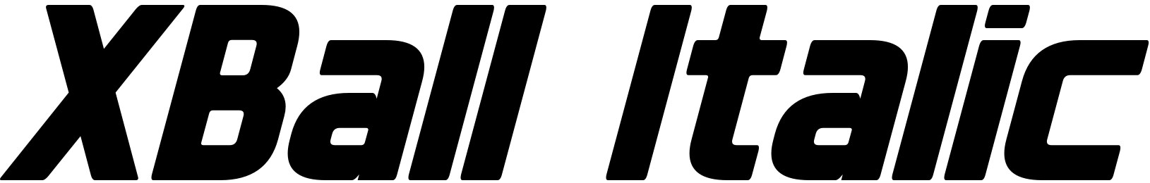 XBall Italic